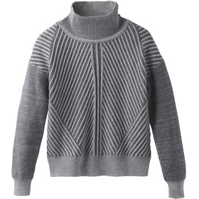 Prana W's Sentiment Sweater Heather Grey